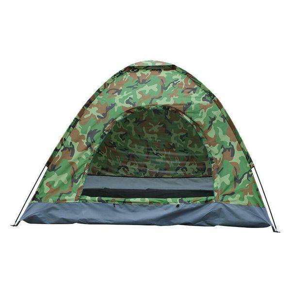NEW Outdoor Camping Camo Tent 4 Season Hiking Folding Waterproof Folding Tent