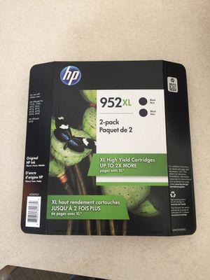 HP 952xl Black Ink 2 Pack for Sale in Wenatchee, WA