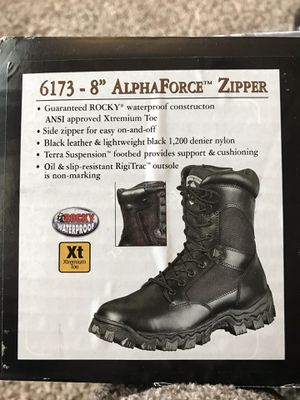 Men's Rocky size 9.5 work boots for Sale in Spring Hill, TN