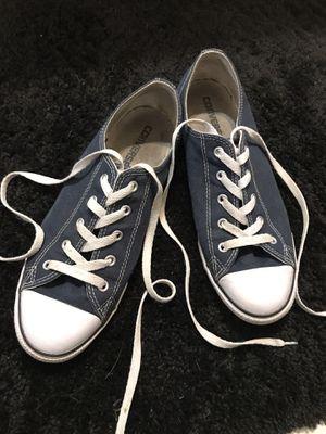Women's Converse All Stars Navy Blue Size 10 for Sale for sale  Orange Park, FL