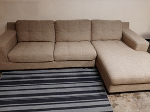 Gorgeous Kasala sectional couch with chaise for Sale in Renton, WA
