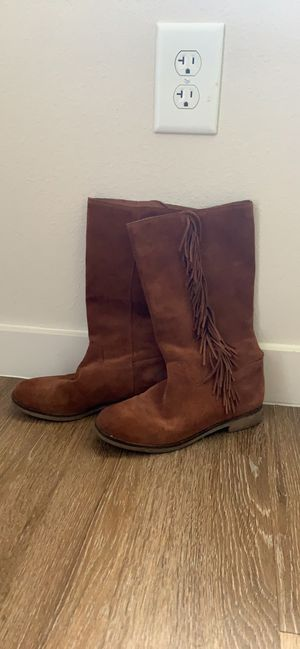 Lucky Brand leather boots Size 7.5 for Sale in St. Petersburg, FL