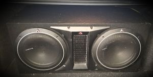 "Rockford Fosgate 12"" subs & amp for Sale in Pittsburg, KS"