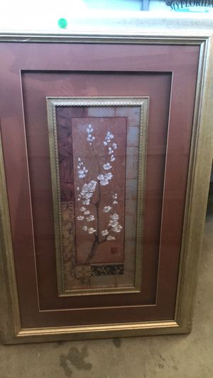 Framed Cherry Blossom Mixed Media for Sale in Windermere, FL