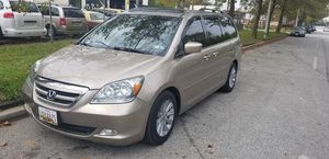 2007 Honda Odyssey Touring for Sale in Baltimore, MD