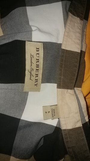 Burberry shirt size s for Sale in Houston, TX