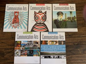 COMMUNICATION ARTS MAGAZINES 2008. 2009. 2010. 2011 All for $25 for Sale in Lucas, TX