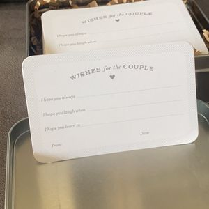 Wishes For Couple Plus Tin for Sale in Long Beach, NY