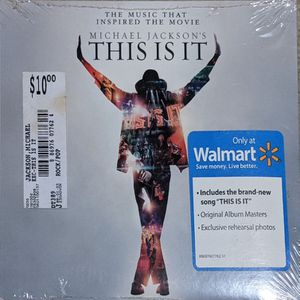 This Is It Michael Jackson CD New SEALED for Sale in Pittsburgh, PA