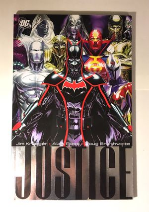 Justice League Graphic Novel Comic Book Like New for Sale in Gaithersburg, MD