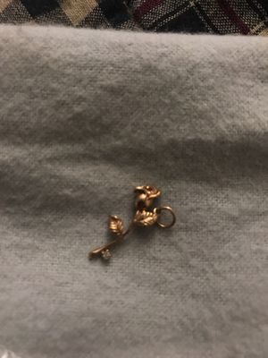 Rose charm with Diamond for Sale in Austin, TX