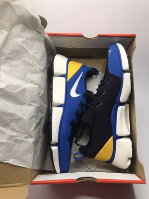 Nike Pocket blue yellow sneakers shoes for Sale in Los Angeles, CA
