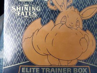 Pokemon Elite Trainer Box Shining Fates Sealed! for Sale in Gig Harbor,  WA