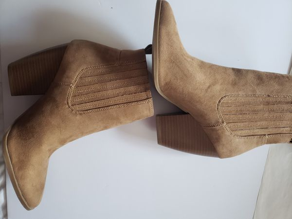 Call It Spring Daisies Ankle Boots - Brown - 7.5