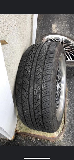 """18"""" Rims and tires for Sale in Marlborough, MA"""