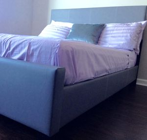 New Gray Queen Bed for Sale in Chevy Chase, DC