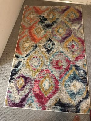 Multi color rug for Sale in Redmond, WA