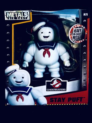 """Jada Toys Ghostbusters Toys Stay Puft 6"""" Metal - New Statues & Bobbleheads for Sale in San Jacinto, CA"""