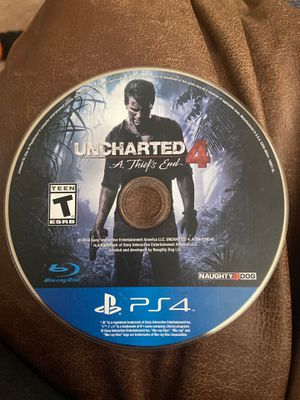 Uncharted 4 a thief's end ps4 for Sale in Columbus, OH