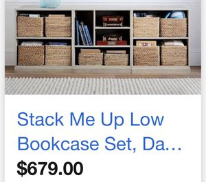 Long white bookcase for Sale in Cleveland, OH