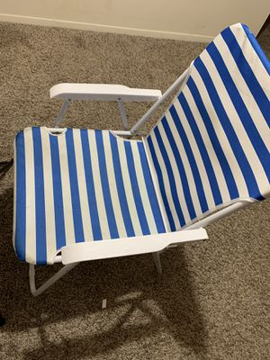 Table and beach chair for Sale in Lexington, KY