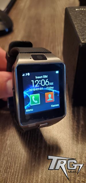 SILVER 🔥NEW SMART WATCH UNLOCKED⌚FOR ALL ANDROID PHONES 🔥 for Sale in Davenport, FL