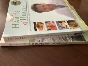 NEW Books . Living a Longer Healthier Life & Dr. A's HABITS of HEALTH for Sale in Creve Coeur, MO