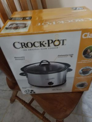 Brand new never opened crockpot for Sale in Fairfax, VA