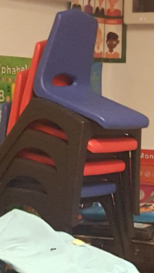 4 kids plastic chairs for Sale in Philadelphia, PA