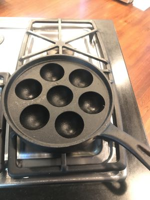 Cast iron Ableskiver pan for Sale in South Pasadena, CA