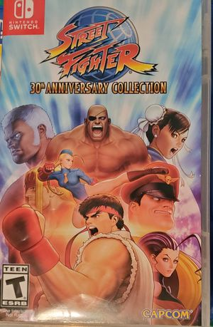Street Fighter 30th Anniversary Collection, Nintendo Switch for Sale in Parlin, NJ