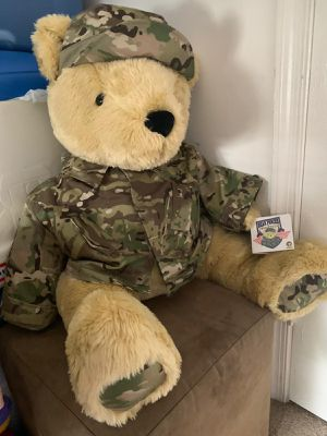 military teddy bear for Sale in Woodbridge, VA