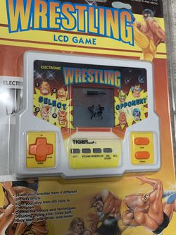 1990's ELECTRONIC WRESTLING LCD GAME for Sale in Reston,  VA