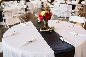 40 navy blue satin table runners for Sale in Tacoma, WA