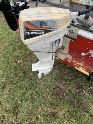 Chrysler 9.9 outboard for Sale in Flat Rock, MI