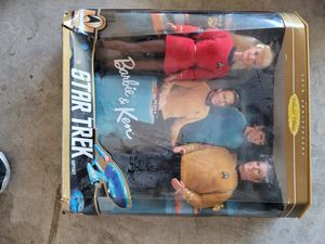 Star Trek Barbie and Ken for Sale in Hutto, TX