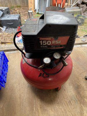Craftsman 150 psi compressor for Sale in Gaithersburg, MD