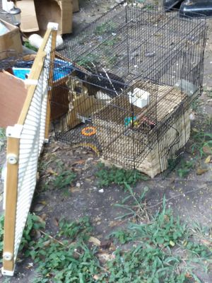 Bird Cage and Saftey Gate for Sale in San Antonio, TX