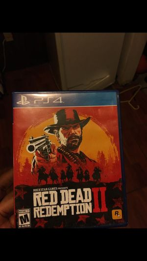 Red dead redemption 2 for Sale in Miami Gardens, FL