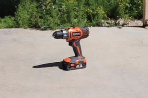 Rigid Cordless Drill for Sale in Goodyear, AZ