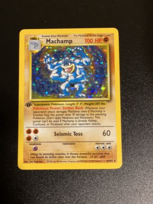 Machamp Pokémon Card for Sale in Chandler, AZ
