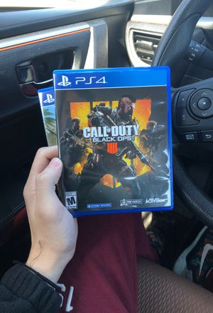 Both Ps4 call of duty 4 and Ark game for Sale in Framingham, MA