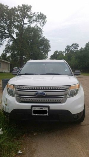 2013 Ford Explorer Flex Fuel 4WD for Sale in Houston, TX
