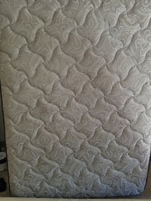 Queen size mattress with bed frame for Sale in Tallahassee, FL
