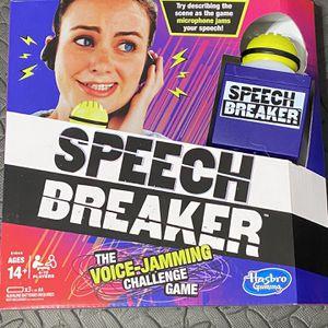 Speech Breaker Game for Sale in Saint Paul, MN