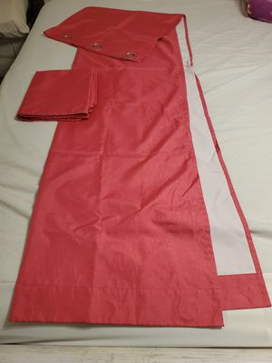 42x84 eclipse curtains pink for Sale in Cheney, WA