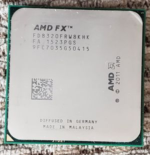AMD 8-core CPU with motherboard for Sale in Renton, WA