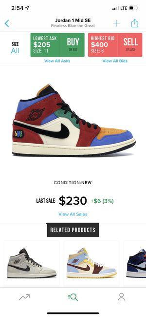 Jordan 1 fearless blue for Sale in San Leandro, CA