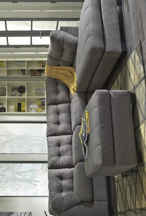 SPECIAL] Maieeejsr Charcoal RAF Sectional for Sale in Arlington, VA
