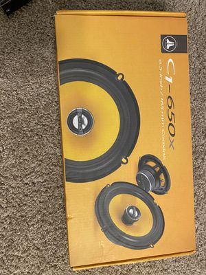 """JL Audio 6:5"""" Coaxial speakers for Sale in Lakewood, CO"""